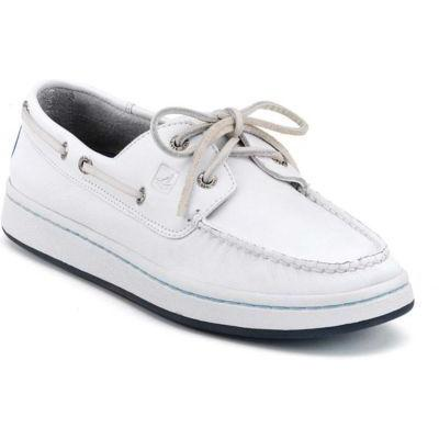 sperry topsider shoes cup white leather where to buy