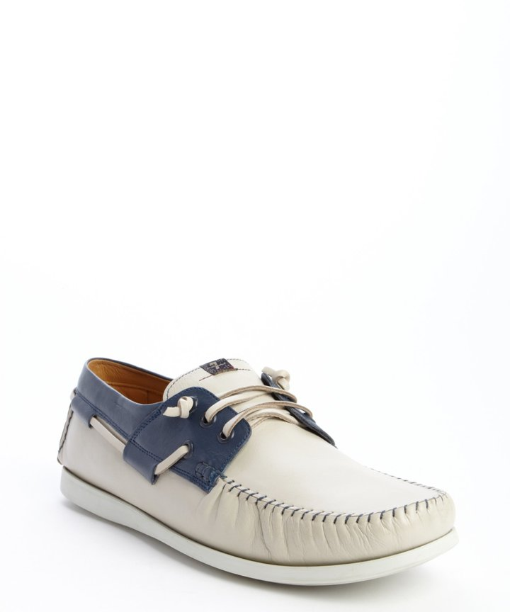 7 For All Mankind White And Blue