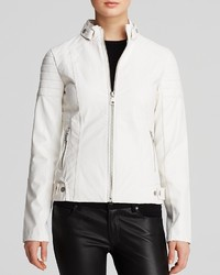 Sam Edelman Jacket Chloe Quilted Faux Leather