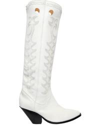 Isabel Marant Etoile 40mm Deytta Cowboy Leather Boots