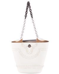 Balenciaga 2015 Mini Pickstitch Bucket