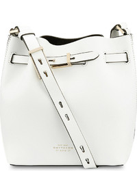 Smythson Albemarle Small Leather Bucket Bag