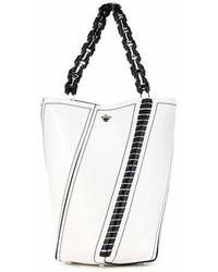 Proenza Schouler Hex Medium Leather Bucket Bag