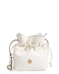 Tory Burch Kira Ed Leather Bucket Bag