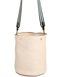 Marni Medium Grained Leather Bucket Bag