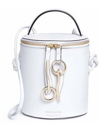 Meli-Melo Meli Melo X Olivia Palermo Severine Leather Bucket Bag