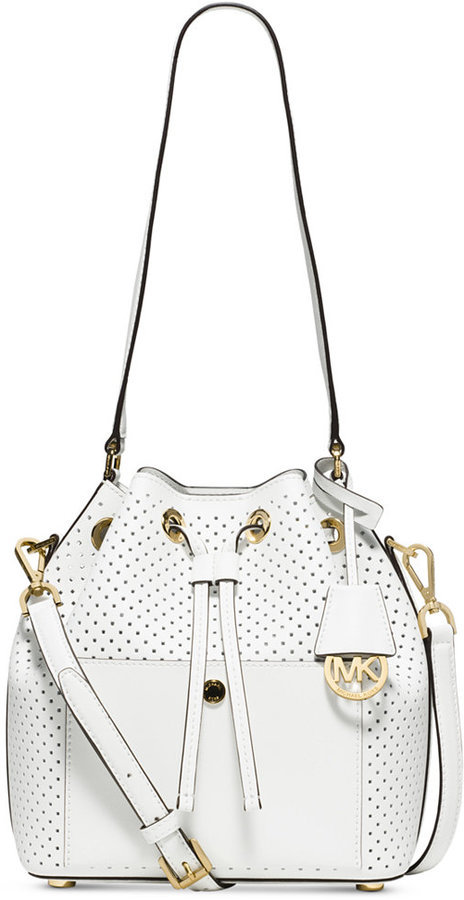 73326e89847d ... discount michael michael kors michl michl kors greenwich medium bucket  bag e8dbb 87372