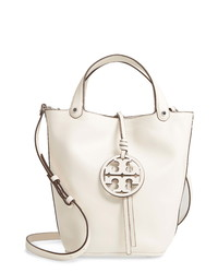 Tory Burch Miller Leather Bucket Bag