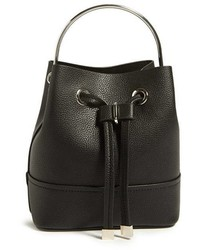 Forever 21 Mini Faux Leather Bucket Bag