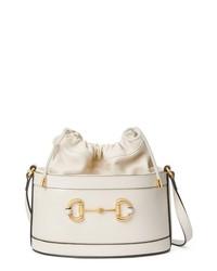 Gucci Small 1955 Horsebit Leather Bucket Bag