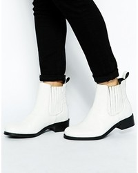 Women's White Chelsea Boots by Asos