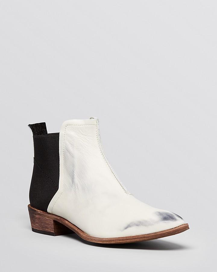 Flat Chelsea Booties Dark Horse, $198