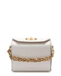 Alexander McQueen Medium Calfskin Leather Box Bag