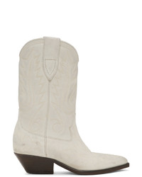 Isabel Marant Off White Western Stitch Duerto Boots
