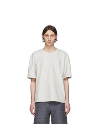 Paul Smith Off White Leather T Shirt