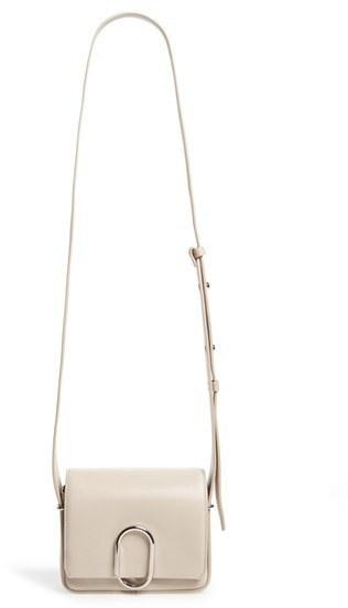 3.1 Phillip Lim Mini Alix Leather Shoulder Bag Black