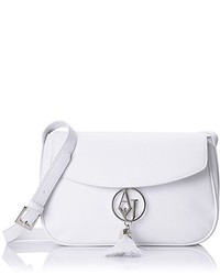f918feede1a5 Women s White Leather Crossbody Bags by Armani Jeans