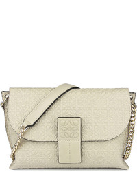 Loewe Avenue Embossed Leather Cross Body Bag