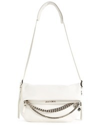 Jimmy Choo Biker Small Leather Crossbody Bag