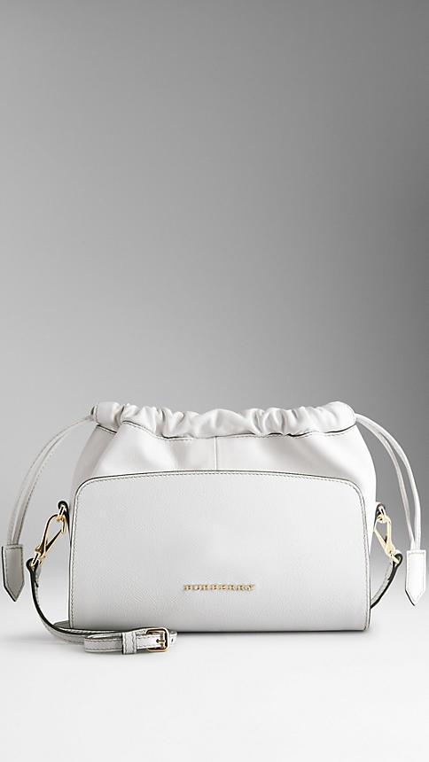 7edac6ac67dd ... Burberry Mini Patent London Leather Crossbody Bag ...