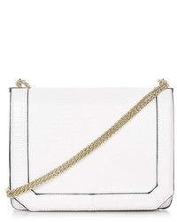 Topshop Cannonbury Faux Leather Crossbody Bag