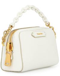 ddfec5054e1 Tom Ford Chain Strap Small Crossbody Bag White,  1,990   Neiman ...