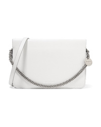 Givenchy Cross3 Two Tone Textured Leather And Suede Shoulder Bag