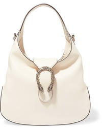 Gucci Dionysus Hobo Small Leather Shoulder Bag White