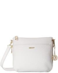 DKNY Tribeca Soft Tumbled Double Zip Crossbody