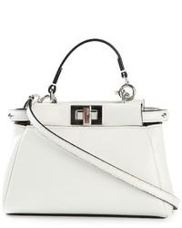 Fendi Micro Peekaboo Crossbody Bag