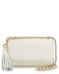 Tory Burch Fleming Micro Patent Crossbody Bag