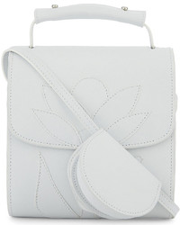 MARQUES ALMEIDA Flower Goatskin Cross Body Bag