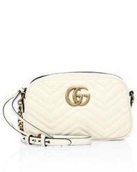 Gucci Gg Small Matelasse Leather Camera Bag