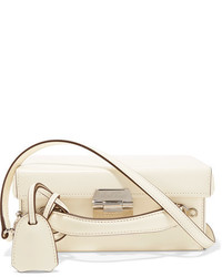 MARK CROSS Grace Small Leather Shoulder Bag Ivory