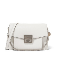 Givenchy Gv3 Small Textured Leather Shoulder Bag