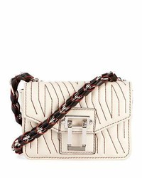Proenza Schouler Hava Woven Crossbody Bag Off White