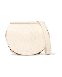 Givenchy Infinity Mini Med Textured Leather Shoulder Bag
