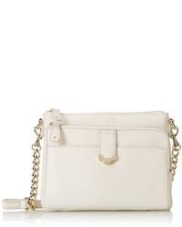 22f370e4ba4f Women s White Leather Crossbody Bags from Amazon.com