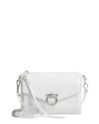 Rebecca Minkoff Jean Mac Croc Embossed Crossbody Bag