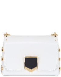 Jimmy Choo Lockett Petit Leather Shoulder Bag