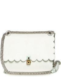 Fendi Kan I Small Leather Cross Body Bag