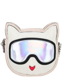 Karl Lagerfeld Choupette Faux Leather Crossbody Bag