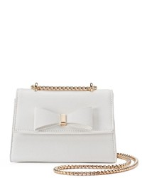 Kiss Me Couture Bow Chain Crossbody Bag