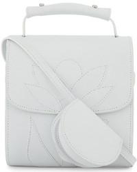 MARQUES ALMEIDA Flower Goatskin Cross Body Bag