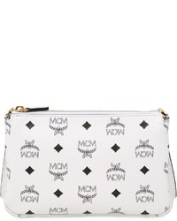 MCM Medium Millie Faux Leather Crossbody Bag