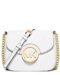 Michael Kors Fulton Leather Small Crossbody