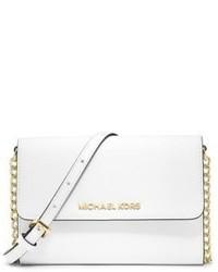 MICHAEL Michael Kors Michl Michl Kors Large Saffiano Leather Phone Crossbody Bag