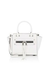 Milly Riley Mini Crossbody Tote White