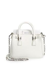 Maison Margiela Mini 5ac Flap Leather Shoulder Bag