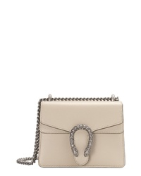 2a725ca77d7 Women s White Leather Crossbody Bags by Gucci